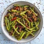 Sichuan Dry Fried Green Beans Recipe