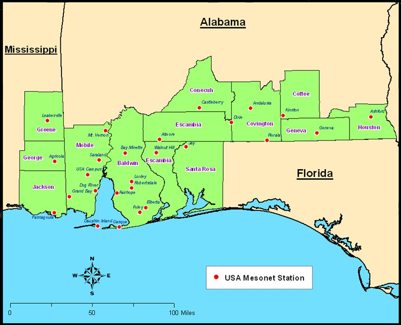 Image result for map of south Alabama