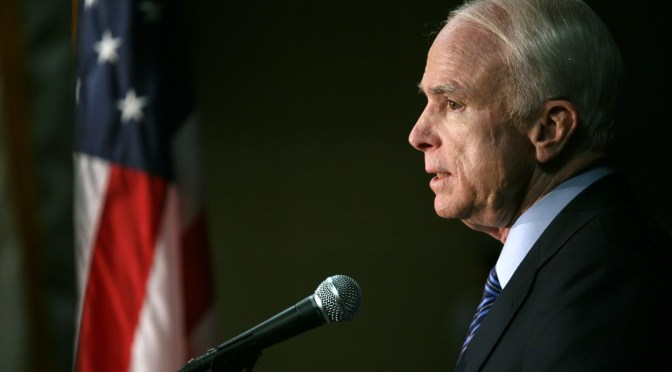 Who is John McCain?