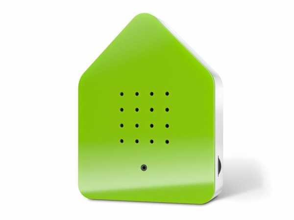 Zwitscherbox-grün