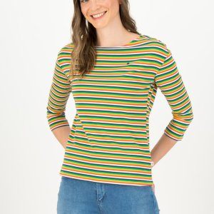 Blutsgeschwister-shirt-logo-stripe-rainbow tiny stripe