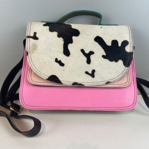 Soruka-Tasche-unikate-pink mit animalprint