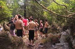Und nach dem Bad in der Höhle