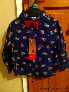 Reindeer print shirt
