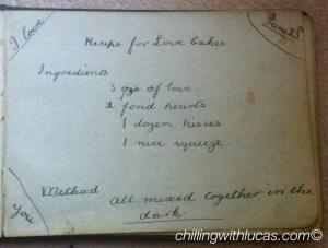Love cake recipe