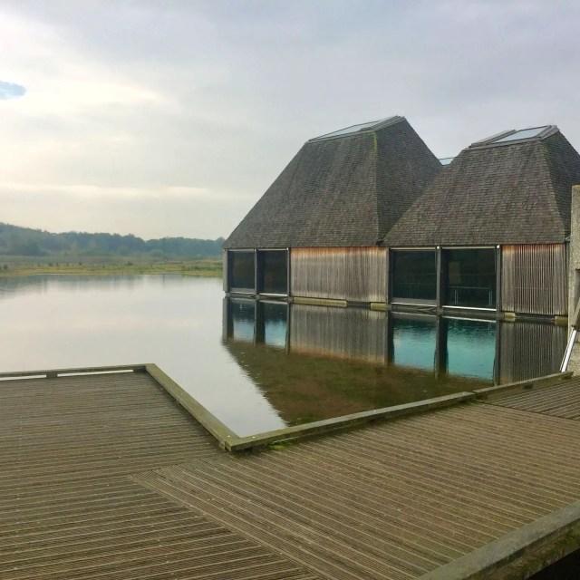 #WalkWithWynsors Brockholes Nature Reserve, floating visitor centre