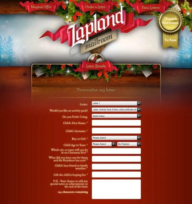 Lapland Mailroom Review
