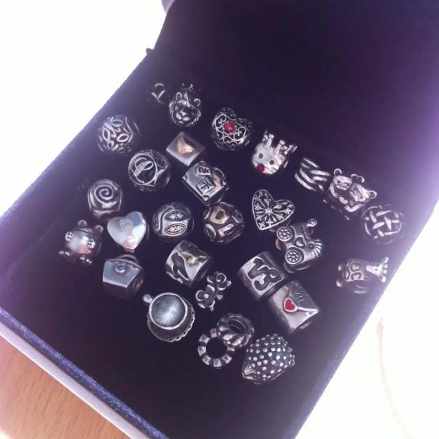 My charm story pandora charm beads