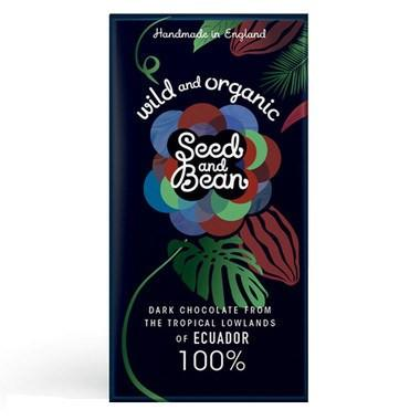Fairtrade chocolate Seed and Bean 100% Ecuador dark chocolate