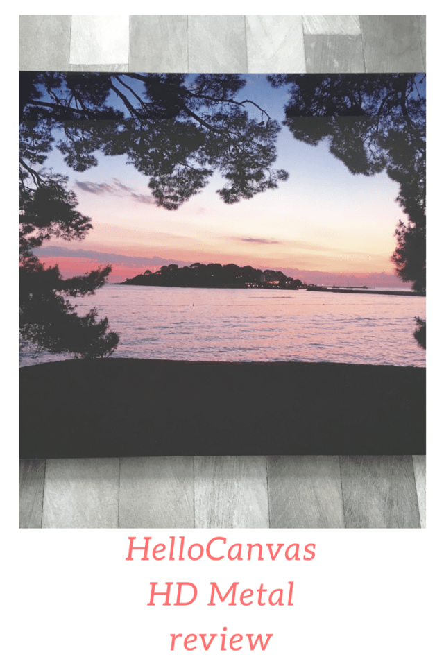 HelloCanvas HD Metal review. Have your photos put onto the HD Metal frame that is suitable for indoor and outdoor use as it is scratch resistant and waterproof