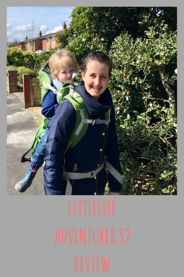 LittleLife Adventurer S2 child carrier, children's iD bracelet and swim bag review #LittleLifeUK #travel
