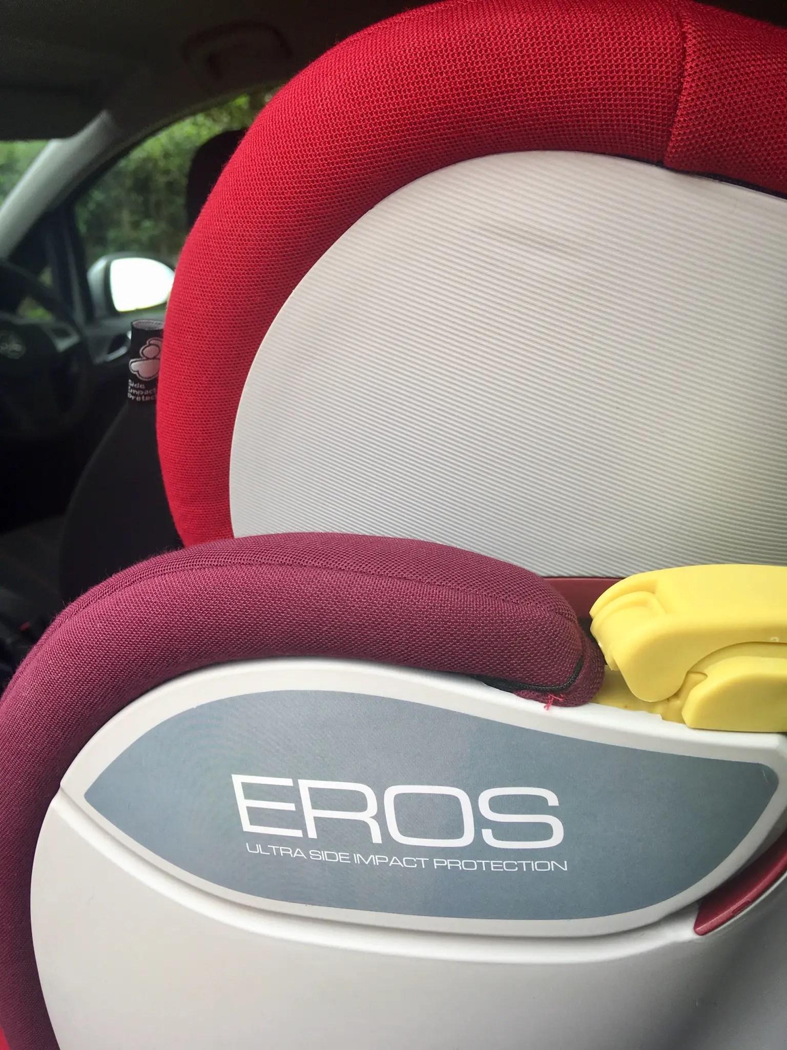 eros seat review