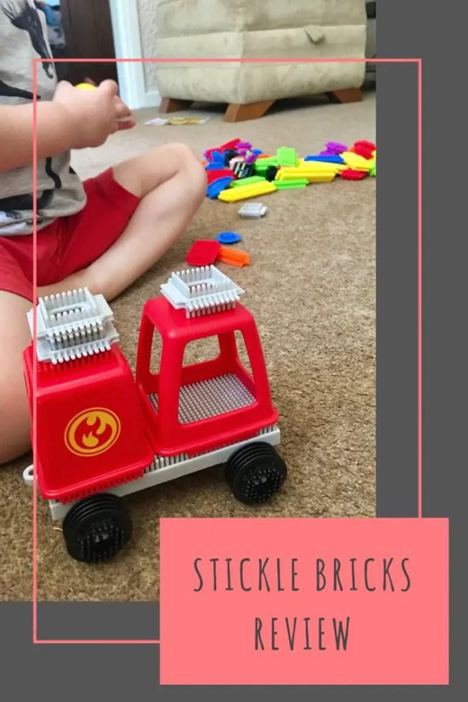 Stickle Bricks review #sticklebricks