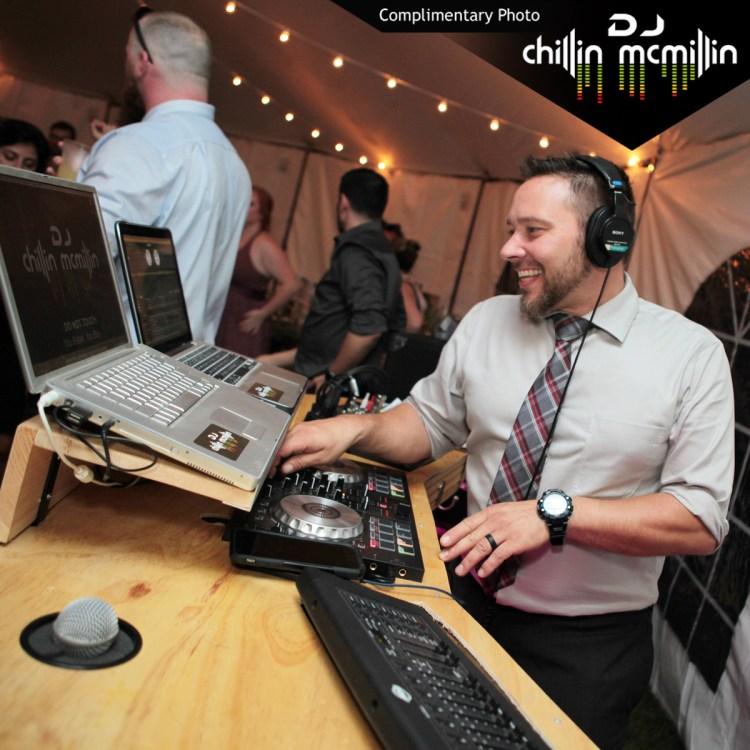 Matt McMillin New Hampshire wedding DJ