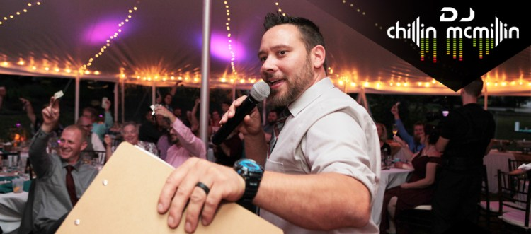 Maine Wedding DJ New England Matt Chillin McMillin
