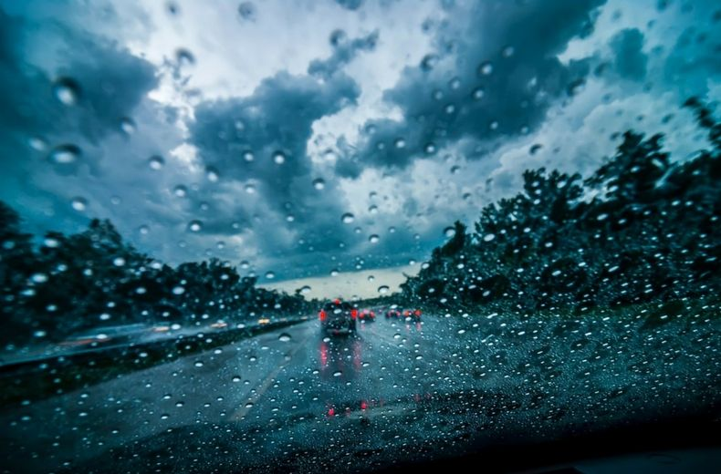 Driving Safely When It's Raining