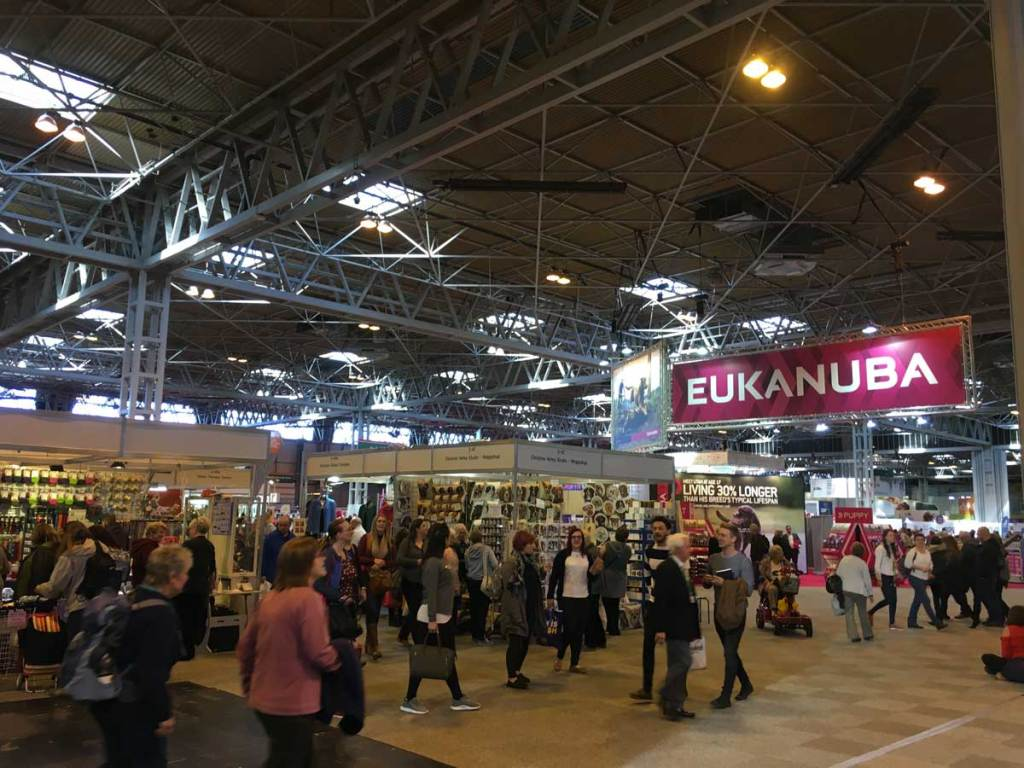 Crufts Halls full of visitors