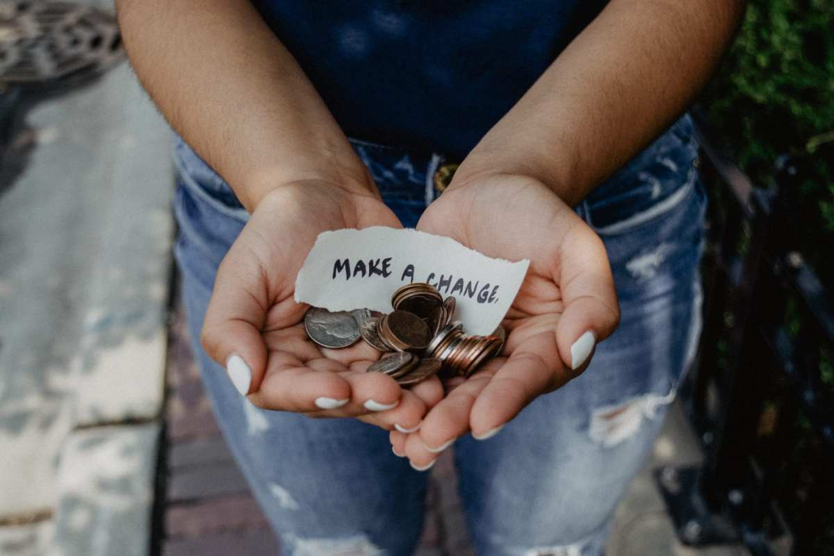 Charity giving: how much do you give? 1