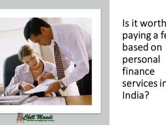 personal finance services india