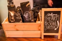 Der Kaffee in Bohnenform zum Mitnehmen.