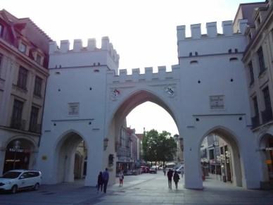 Das Tor, Eingang der Fußgängerzone.