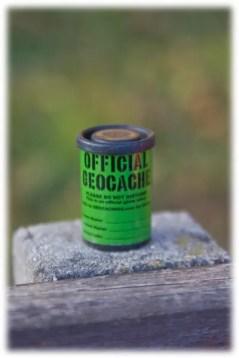 Filmdose als Geocache-Behältnis