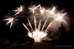 Postkarte 007 Schlossbeleuchtung Heidelberg Feuerwerk