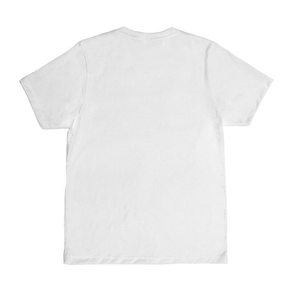 Unisex White Advance T-shirt Back View