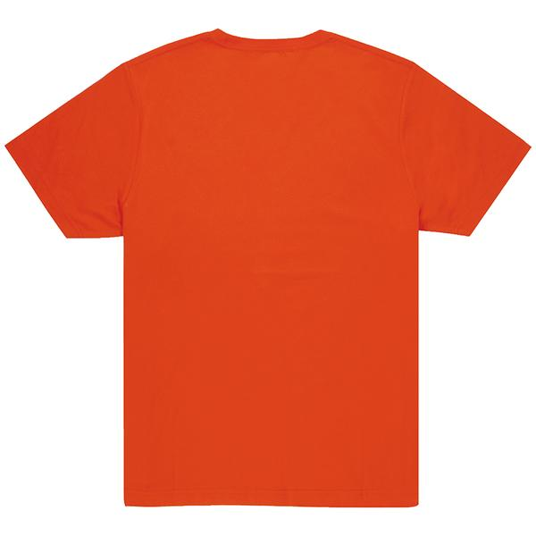 Unisex Orange Crew T-shirt Back