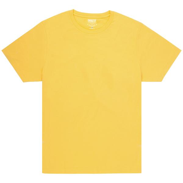 Unisex Yellow Crew T-shirt Front
