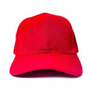 Custom and Embroider your Red Cap Front View