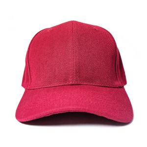 Custom and Embroider your Wine Red Cap Front View