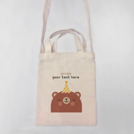 Hello Bear Tote-bag