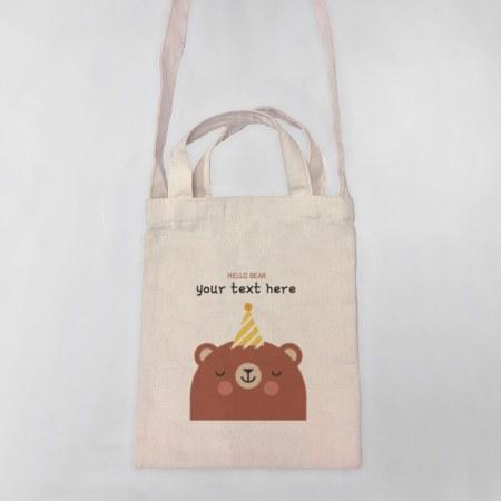 Hello Bear Tote-bag