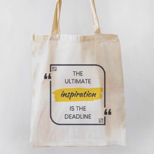 The Ultimate Inspiration Canvas Tote-bag Freesize, Custom our iTee template and make it yours. Product View