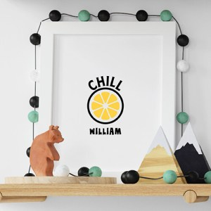 Create your My Chill Lemon White Kids T-shirt Thumbnail, Custom our iTee template and make it yours.