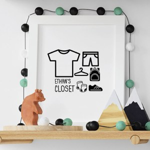 Create your I'm a moving closet White Kids T-shirt Thumbnail, Custom our iTee template and make it yours.