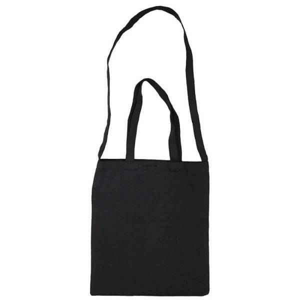 Custom your Black Versatile Tote-Bag Freesize, Front View
