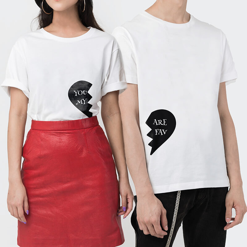 Where did my heart go? Couple T-shirt (2pcs)