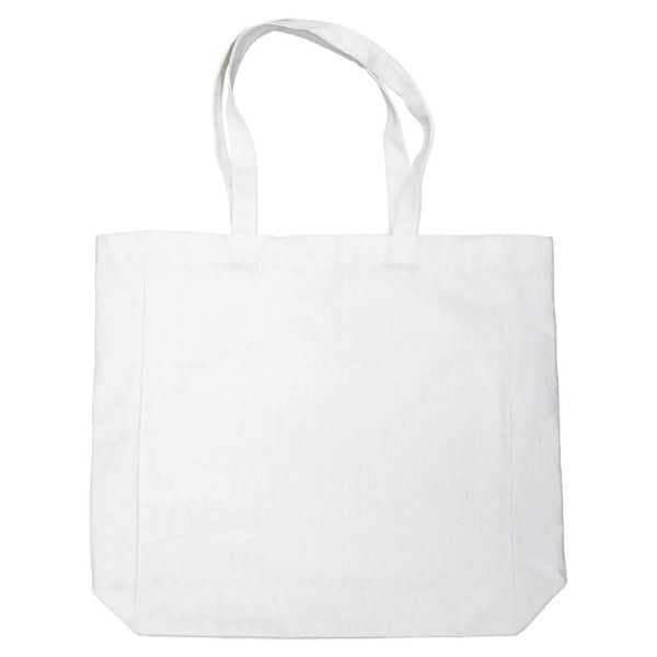 Custom your Canvas XL Tote-Bag, Back View