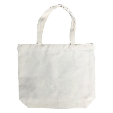 Canvas Flat Bottom Tote-bag