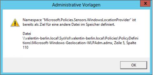 Windows 10 Gruppentichtlinien Fehler