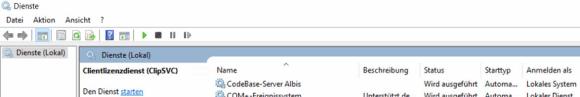 Albiswin Codebase Server