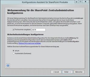 Sharepoint Foundation 2013 Konfiguration 8