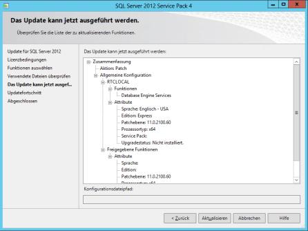 4Lynx 2013 SQL Server Service Pack Update 5