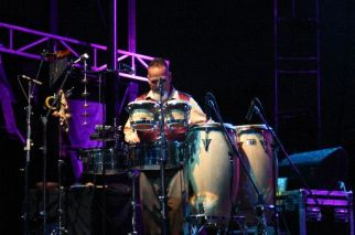 Percussion Player for AHMAD JAMAL