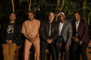 Headhunters - Stephen Gordon, Chris Severin, Mike Clark, Bill Summers, Donald E. Harrison Jr - photo by Michael Weintrob