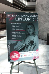 International Stage Lineup Poster
