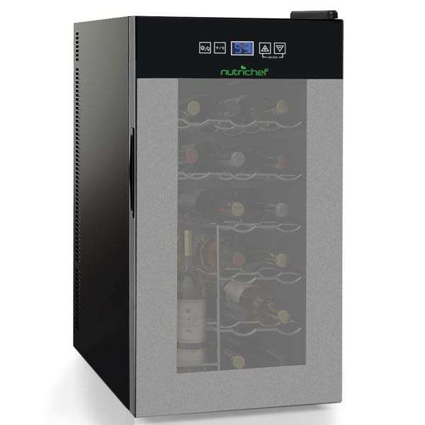 NutriChef 18 Bottle Wine Chiller