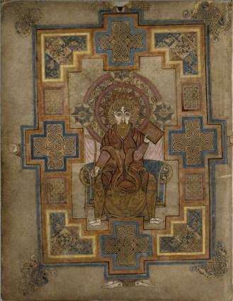 Σελίδα από το κατά Ιωάννη Ευαγγέλιο πορτραίτο Ιωάννη